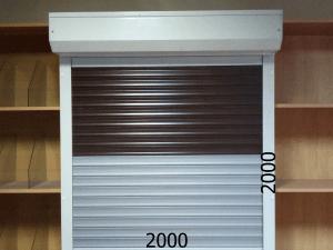 Рольставни защитные для дома, офиса и магазина 2000*2000мм