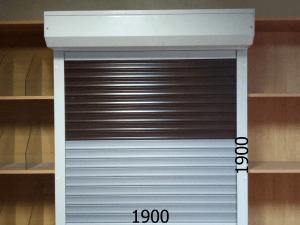 Рольставни механические с наплнением 1900*1900мм