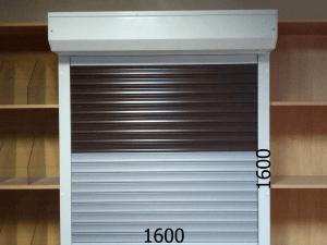 Рольставни защитные механические для ларька 1600*1600мм