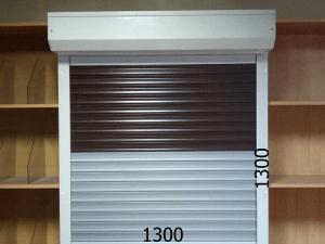 Рольставни для офиса и дома механические 1300*1300мм