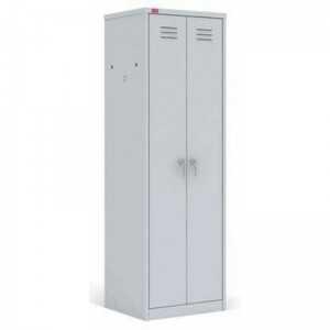 Шкаф разборный металлический двухсекционный. ШРМ-АК