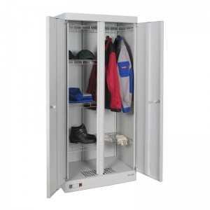 Металлический сушильный шкаф для одежды и обуви ШСО-2000