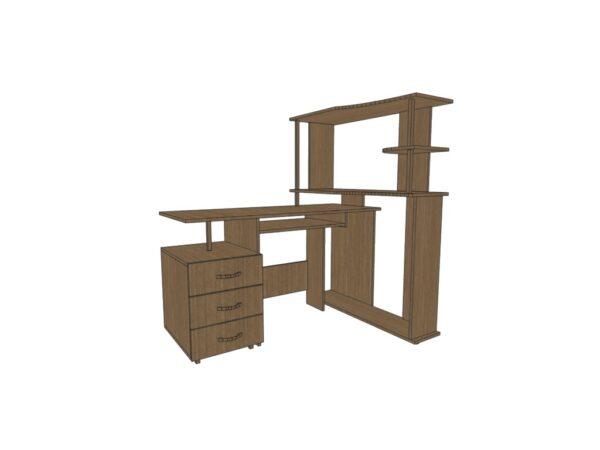 Компьютерный стол КС 16 для дома и офиса