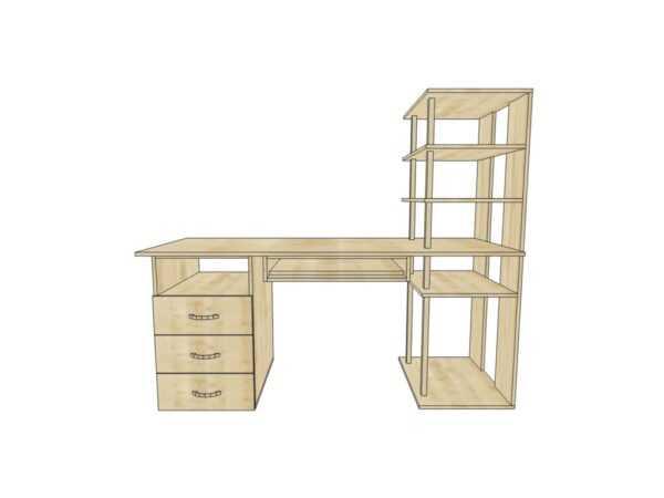 Компьютерный стол КС 19 угловой для дома и офиса