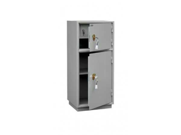 Шкаф для бухгалтерии КБ-042Т металлический серый