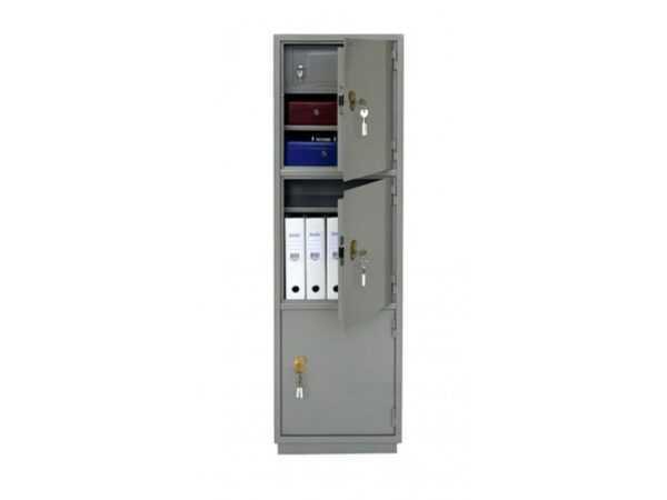 Бухгалтерский шкаф офисный металлический КБ-033Т