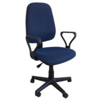 Кресло Алекс подлокотник Самба, ткань офисная