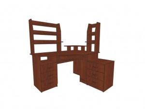 Компьютерный стол КС 9 для дома и офиса 64 вида ЛДСП