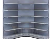 Металлические торговые стеллажи недорого от производителя