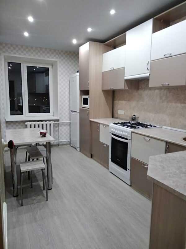 Кухонный гарнитур недорого от производителя из ЛДСП и МДФ 5100мм 1