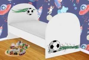 Детская кровать Футболный мяч