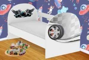 Детская кровать Гонки