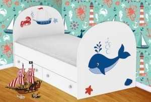 Детская кровать Кит
