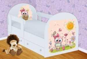 Детская кровать Совенок