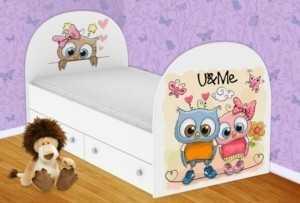 Детская кровать Совушки