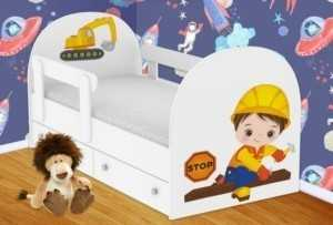 Детская кровать Строитель