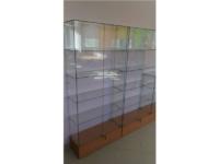 Стеклянные витрины Челябинск из сверленного стекла 5, 6 и 8мм