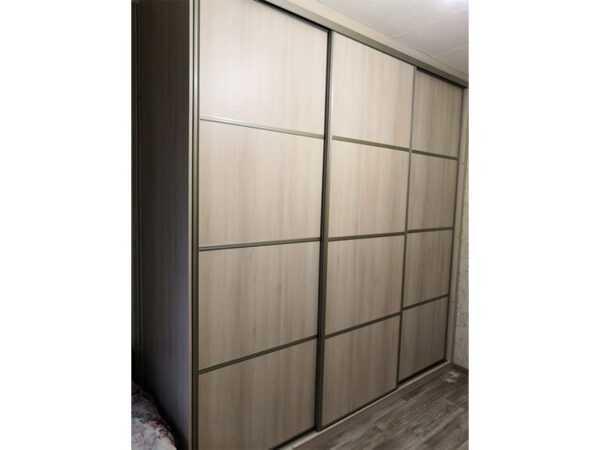 Дверь шкафа-купе ЛДСП со вставками