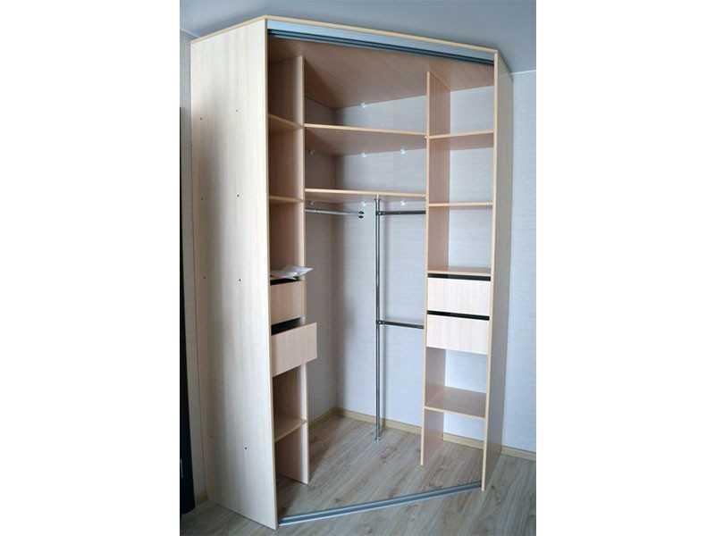 Угловые шкафы-купе в Челябинске купить недорого